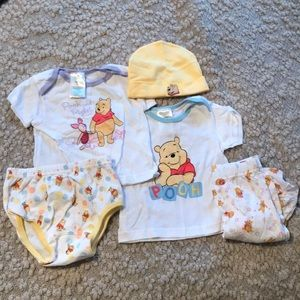 Winnie the Pooh 0-6 months Baby Clothing